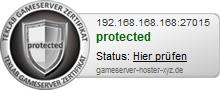 Gameserver Zertifikat 1