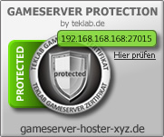 Gameserver Protection Modus